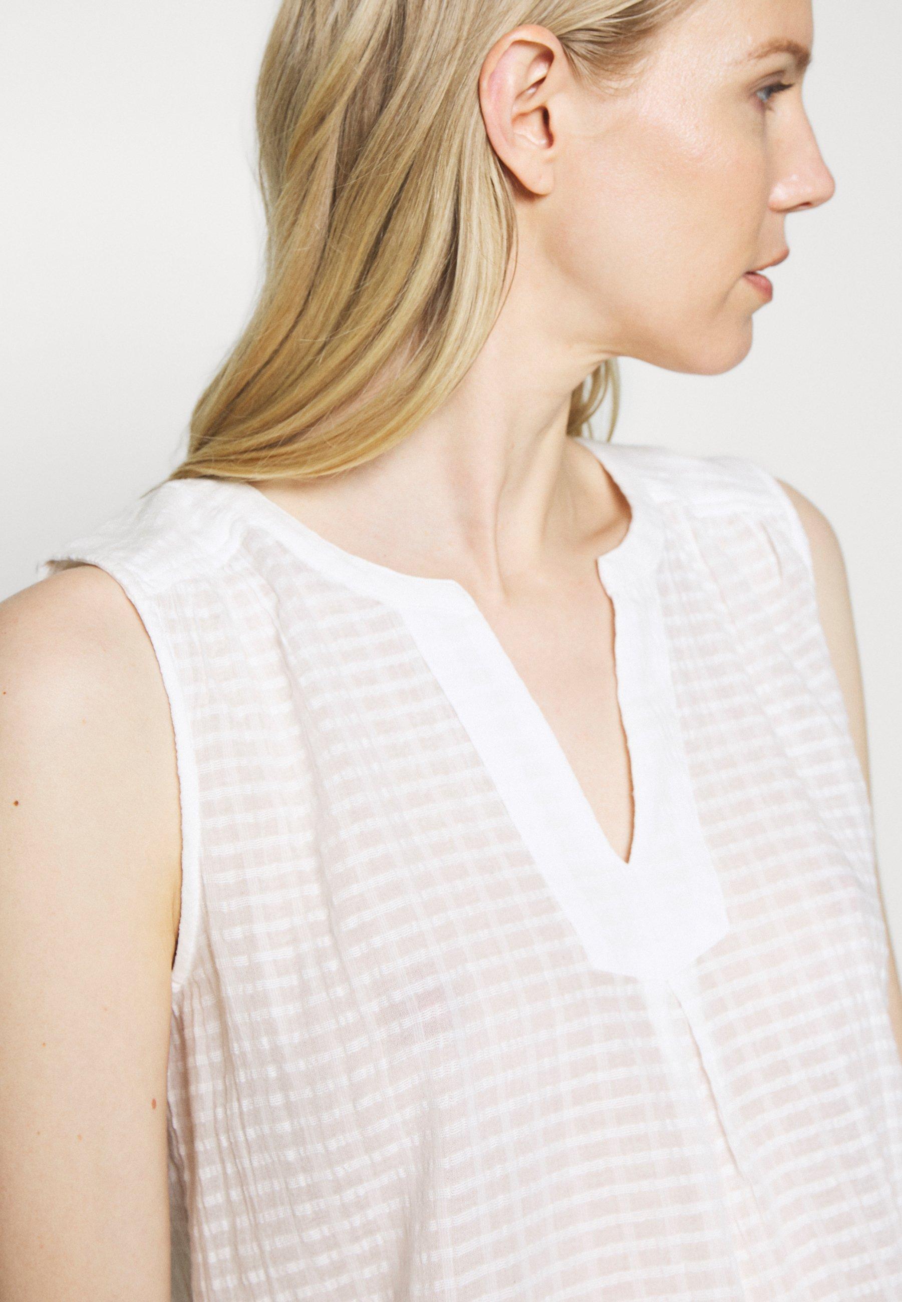 edc by Esprit Gilet off white ZALANDO.FR Pulls & Gilets