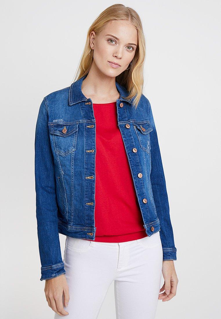 edc by Esprit - JACKET - Veste en jean - blue medium wash