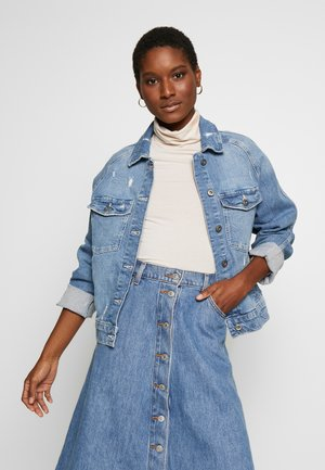 JACKET - Veste en jean - blue light wash