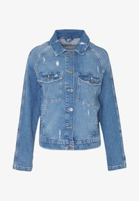 edc by Esprit - JACKET - Veste en jean - blue light wash - 3