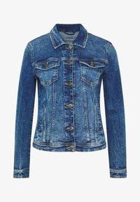 edc by Esprit - JACKET - Spijkerjas - blue medium wash - 4