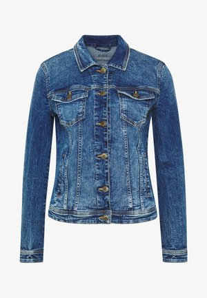 JACKET - Džínová bunda - blue medium wash