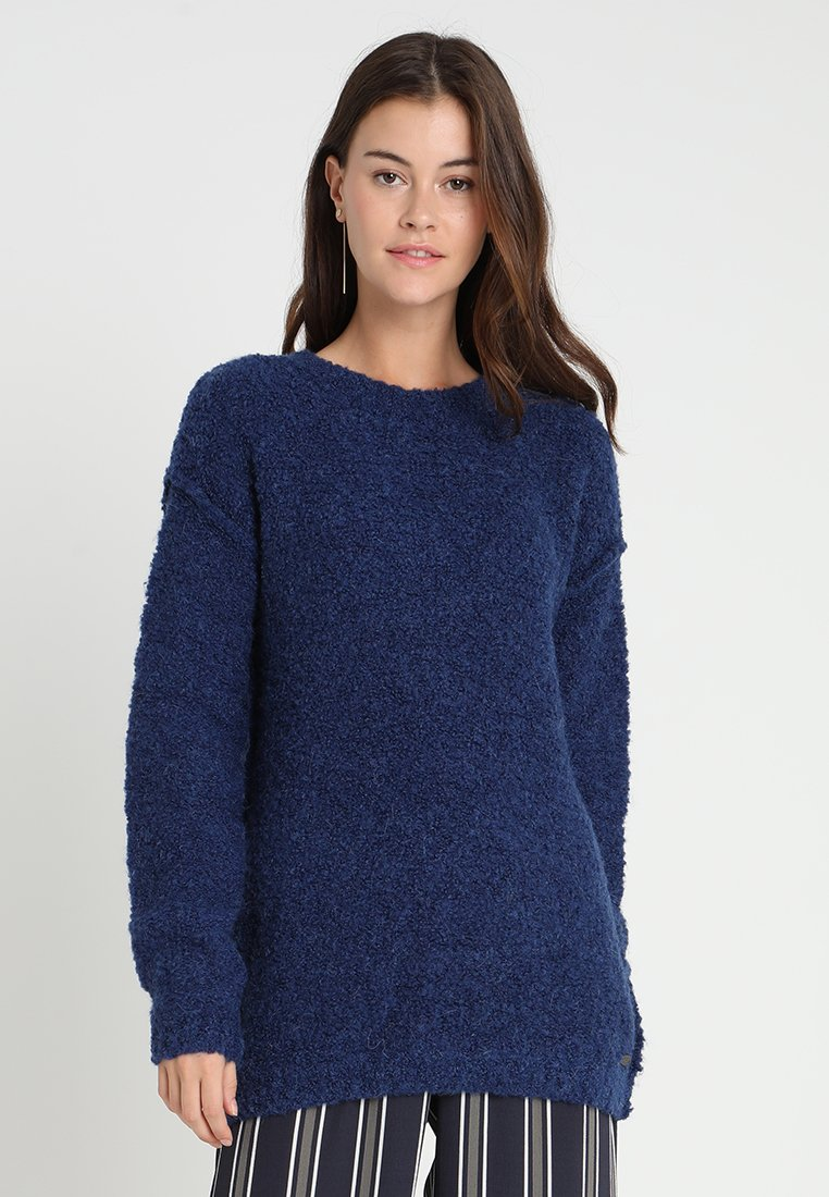 edc by Esprit - BOUCLE - Jumper - bright blue