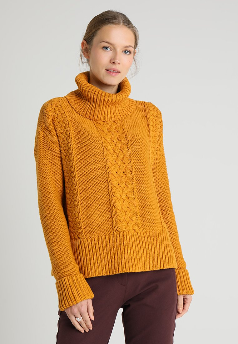 edc by Esprit - CABLE - Jumper - amber yellow