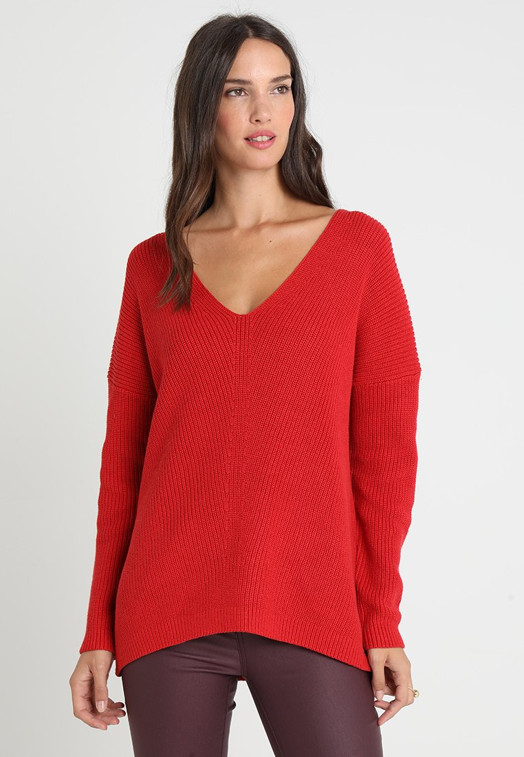 edc by Esprit - DOUBLE  - Jumper - red