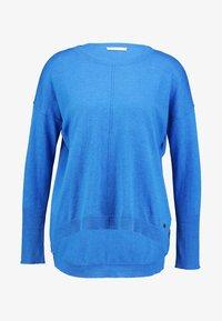 edc by Esprit - OVERS SEAM - Strikkegenser - bright blue - 3