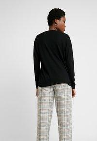 edc by Esprit - OCS LLT  - Stickad tröja - black - 2