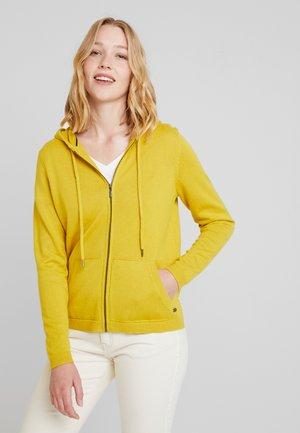 OCS - veste en sweat zippée - brass yellow