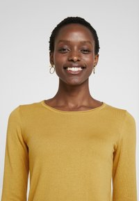 edc by Esprit - BASIC NECK - Jumper - brass yellow - 3