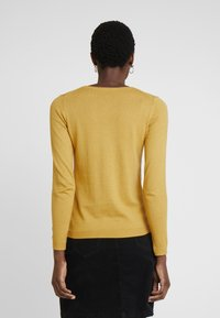 edc by Esprit - BASIC NECK - Jumper - brass yellow - 2
