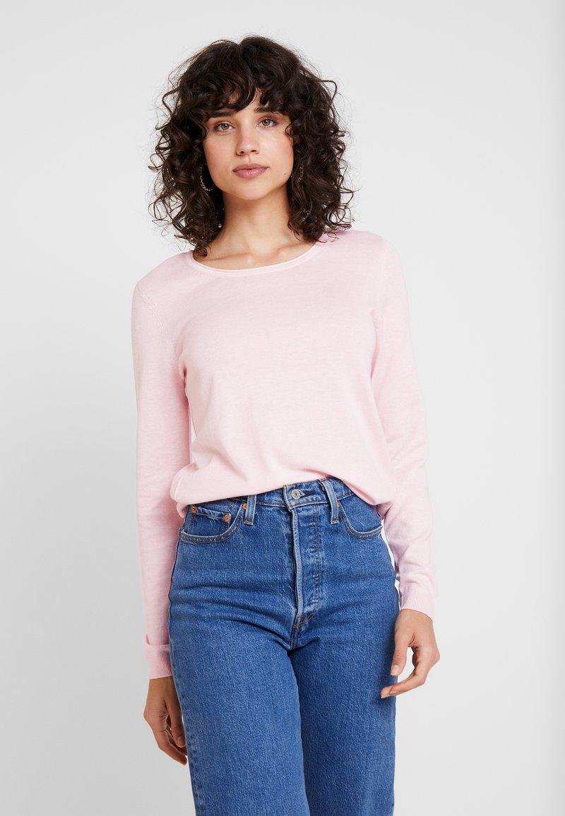 edc by Esprit - BASIC NECK - Trui - light pink