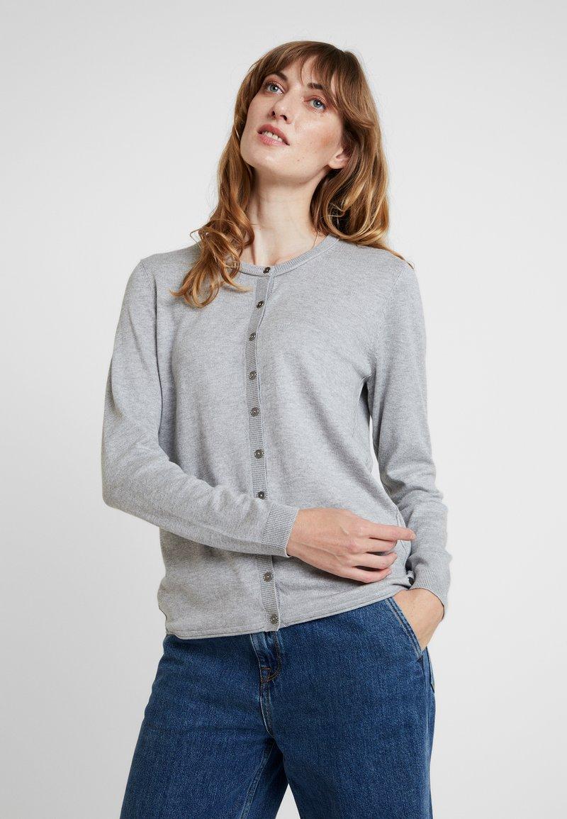 edc by Esprit - Strikjakke /Cardigans - light grey