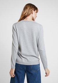 edc by Esprit - Strikjakke /Cardigans - light grey - 2