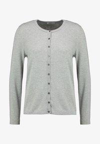 edc by Esprit - Strikjakke /Cardigans - light grey - 4