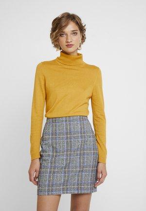 TURTLEN - Sweter - brass yellow