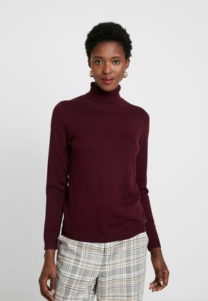 TURTLEN - Maglione - bordeaux red