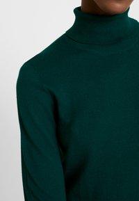 edc by Esprit - TURTLEN - Jersey de punto - bottle green - 4