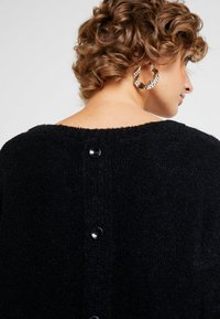 edc by Esprit - BOUCLE - Cardigan - black - 3