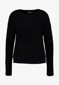 edc by Esprit - BOUCLE - Cardigan - black - 4