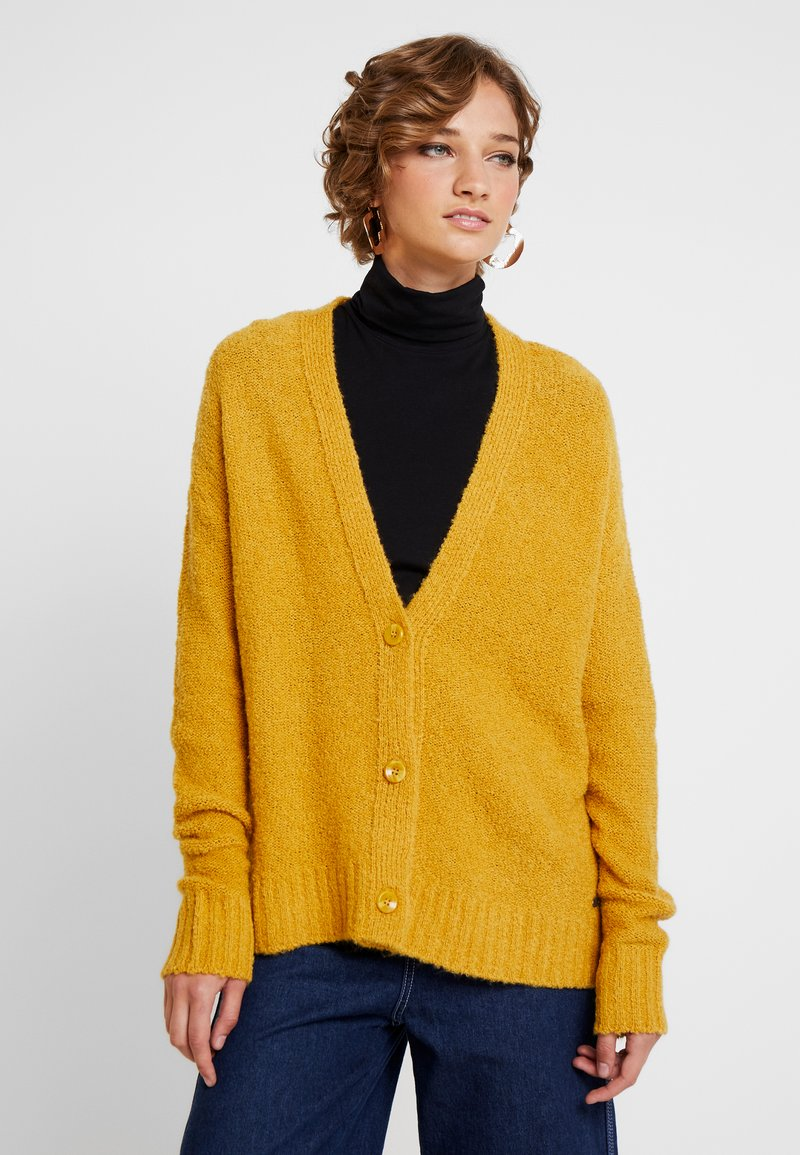 edc by Esprit - CARDI - Cardigan - brass yellow