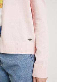 edc by Esprit - BASIC OPEN CARDI - Cardigan - light pink - 4