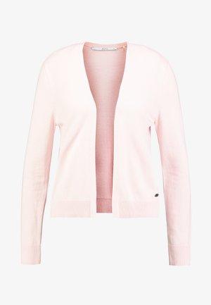 BASIC OPEN CARDI - Cardigan - light pink