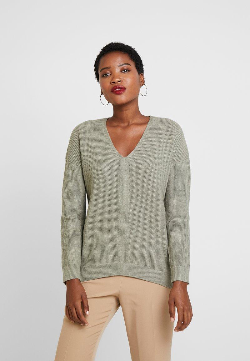 edc by Esprit - Strickpullover - khaki green