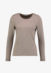 edc by Esprit - BASIC NECK - Strickpullover - taupe - 3