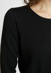 edc by Esprit - BASIC NECK - Trui - black - 4