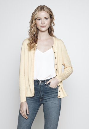 BASIC - Cardigan - yellow