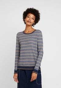 edc by Esprit - STRUCTURE  - Pullover - navy - 0