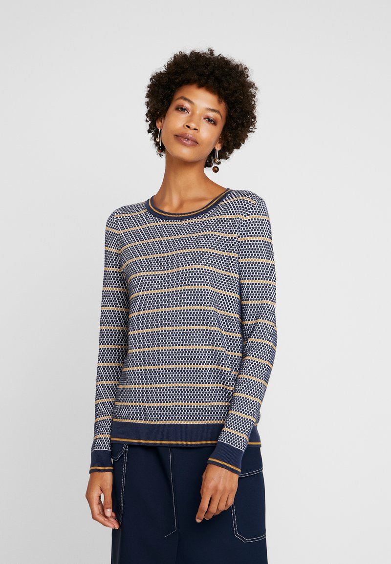edc by Esprit - STRUCTURE  - Pullover - navy