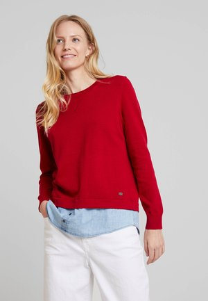 2 IN 1  - Jumper - red