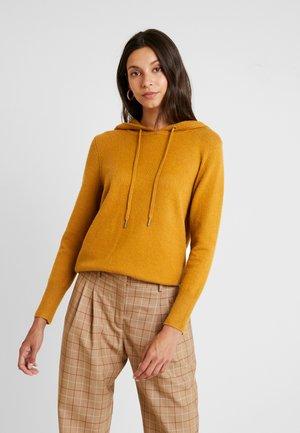 HOODED - Bluza z kapturem - amber yellow