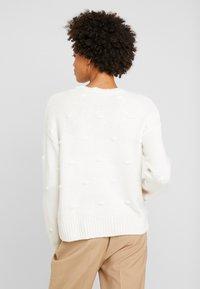 edc by Esprit - KNOTS - Maglione - off white - 2