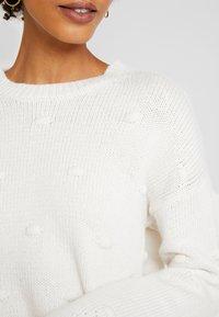 edc by Esprit - KNOTS - Maglione - off white - 5