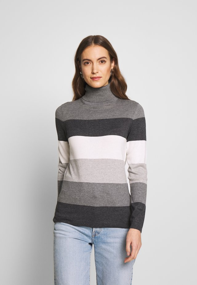 BASIC ROUND - Jersey de punto - dark grey