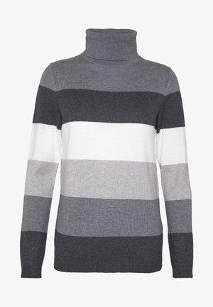 BASIC ROUND - Sweter - dark grey