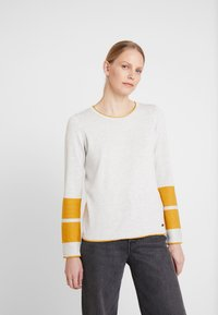 edc by Esprit - BLOCK  - Maglione - light grey - 0