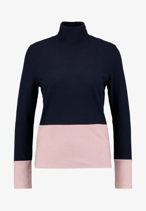 COLOR BLOCK  - Strikpullover /Striktrøjer - navy