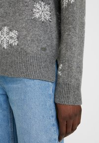 edc by Esprit - JACQUARD - Pullover - gunmetal - 5