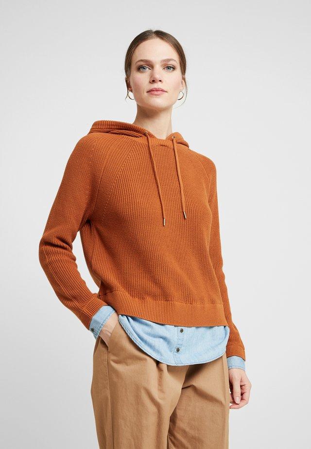 HOOD - Jersey con capucha - cinnamon