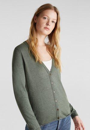Cardigan - khaki green