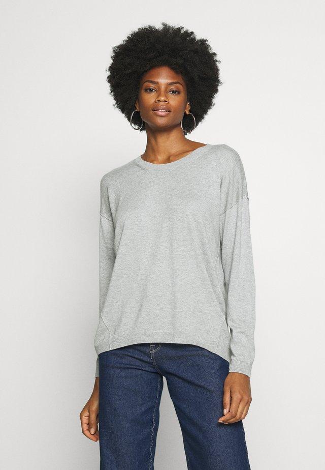 NECK ROUND - Maglione - light grey
