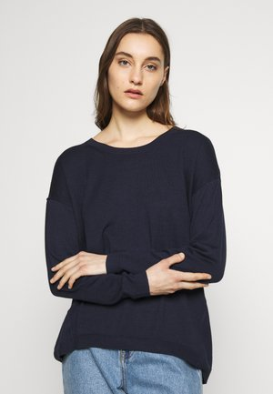 NECK ROUND - Jumper - navy