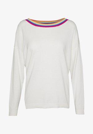 NECK ROUND - Jumper - off white