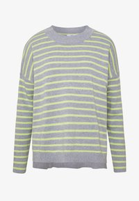 edc by Esprit - STRIPED - Sweter - light grey - 3