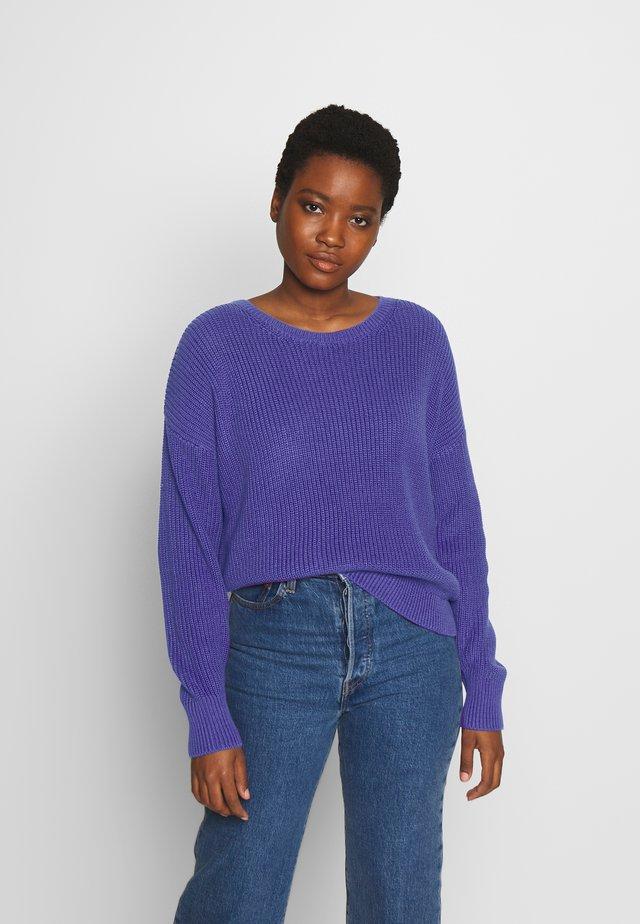 Jersey de punto - dark lavender