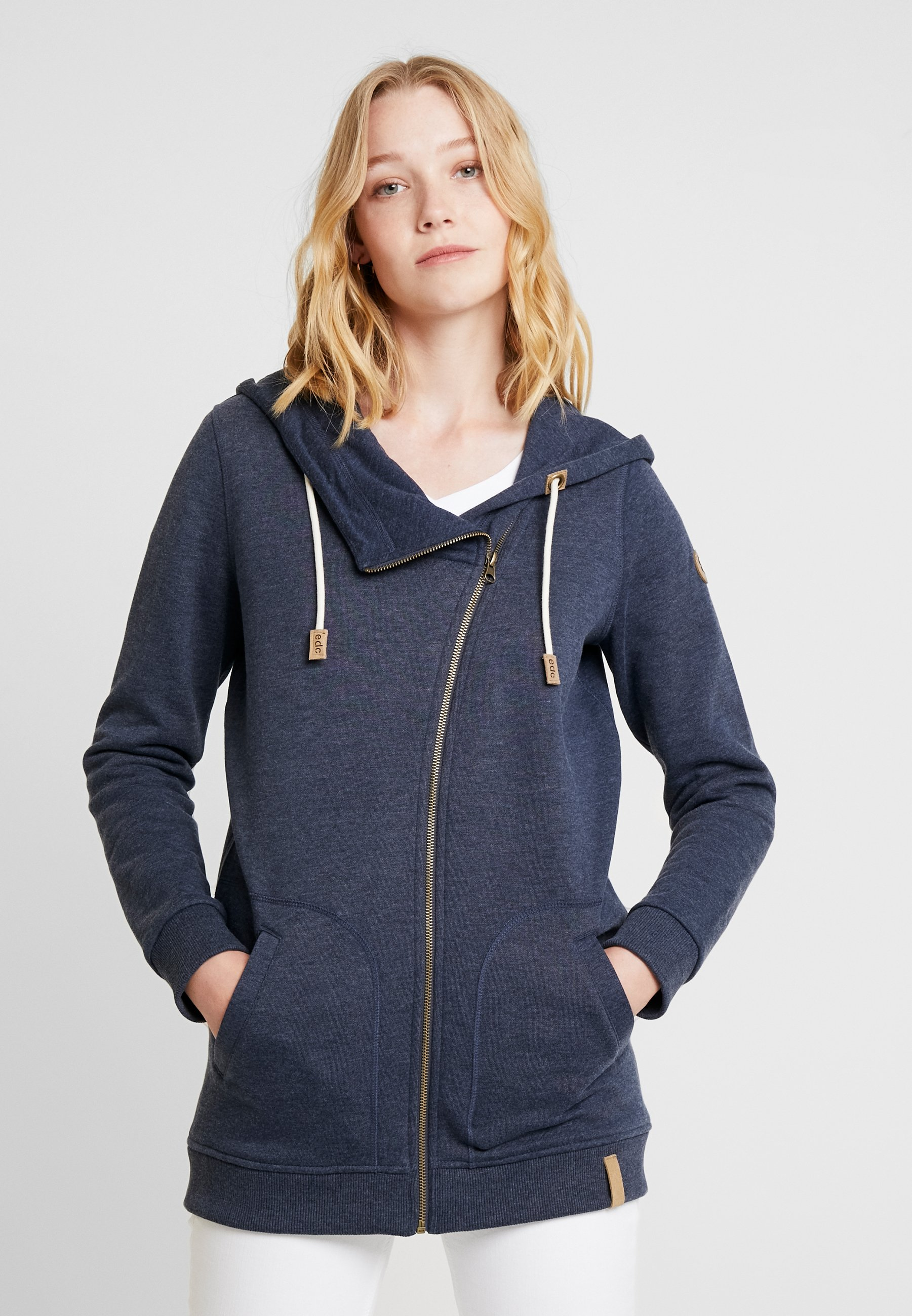 En By Zippée Sweat Zip HoodyVeste Edc Esprit Navy dtQrshC