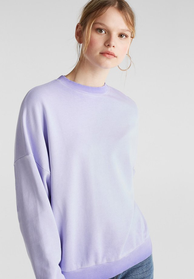 DYED - Sweatshirt - dark lavender
